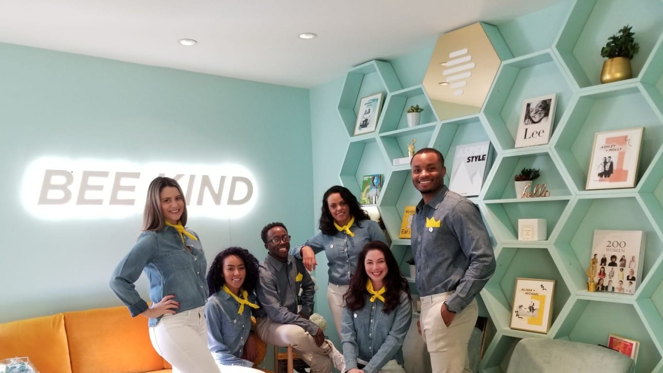 Bumble experiential activation