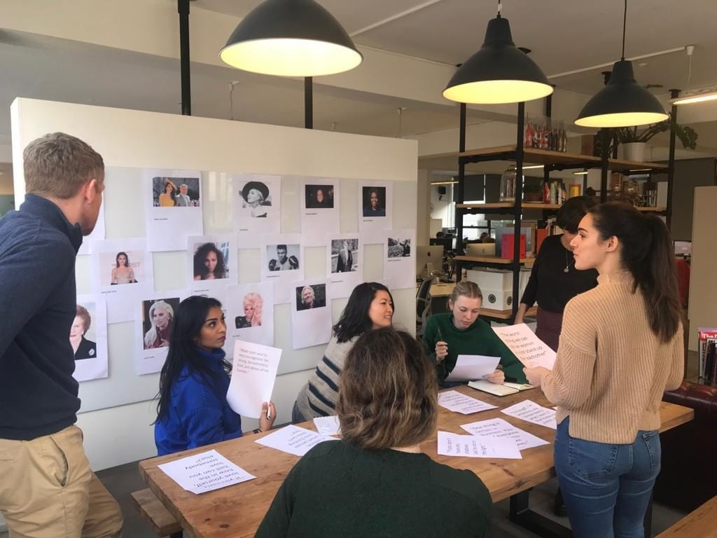 The Elevate team discussed gender parity in honor of International Women's Day