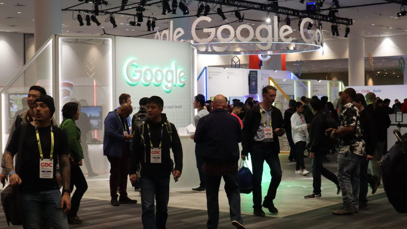 Google Gaming brand activations at GDC
