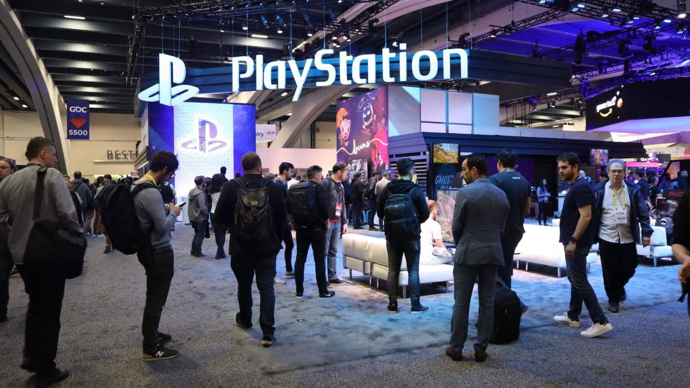 PlayStation best brand activation at GDC