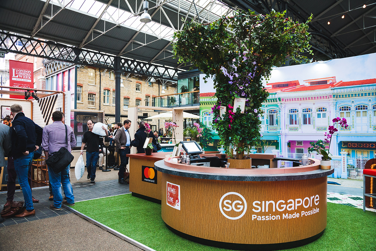 singapore tourism brand activation